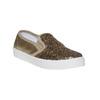 Slip-on da ragazza con glitter north-star, oro, 329-8235 - 13