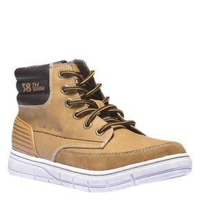 Scarpe da ragazzo alla caviglia mini-b, giallo, 391-8194 - 13