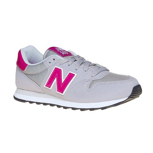 Sneakers grigie da donna new-balance, grigio, 501-2500 - 13