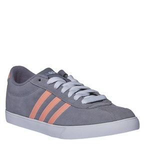 Sneakers informali di pelle adidas, grigio, 503-2685 - 13