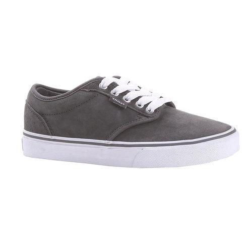 Sneakers Vans da donna in pelle vans, grigio, 503-2599 - 13
