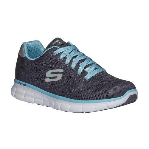 Sneakers da corsa da donna skechers, grigio, 509-2259 - 13