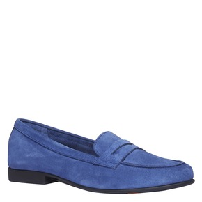 Penny Loafer di pelle flexible, blu, 513-9196 - 13
