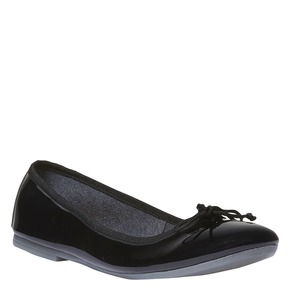 Ballerine da donna bata, nero, 521-6144 - 13