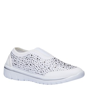 Slip-on da donna north-star, bianco, 539-1109 - 13