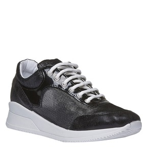 Sneakers con suola alta north-star, nero, 549-6232 - 13