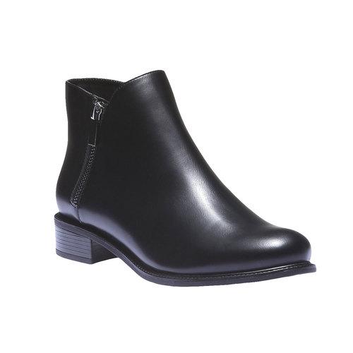 Scarpe da donna alla caviglia bata, nero, 591-6199 - 13