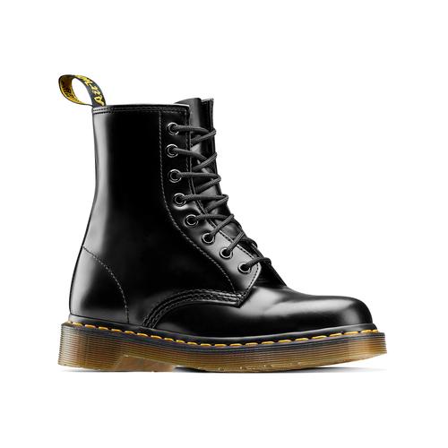 Scarpe in pelle Dr. Marten's alla caviglia dr-martens, nero, 594-6149 - 13