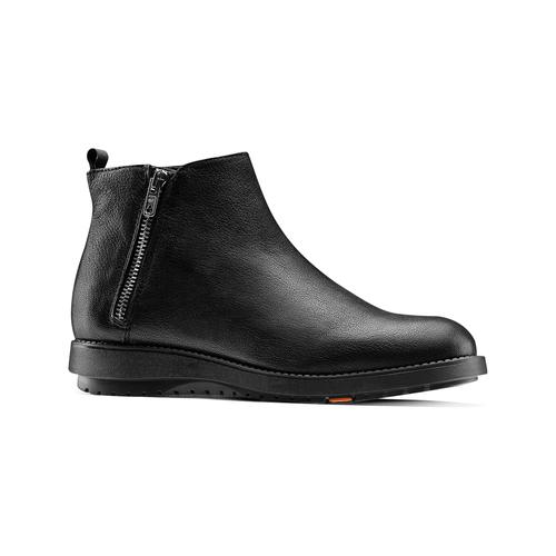 Scarpe di pelle alla caviglia flexible, nero, 594-6227 - 13