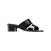 Sandali da donna con tacco basso bata, nero, 671-6835 - 13