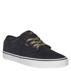 Sneakers da uomo in pelle vans, blu, 803-9300 - 13