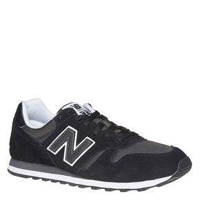 Sneakers da uomo in pelle new-balance, nero, 803-6371 - 13