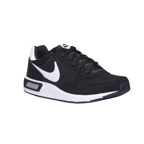 Sneakers Nike di pelle nike, nero, 803-6361 - 13
