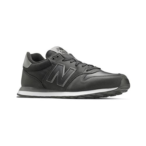 Sneakers nere da uomo new-balance, nero, 801-6500 - 13