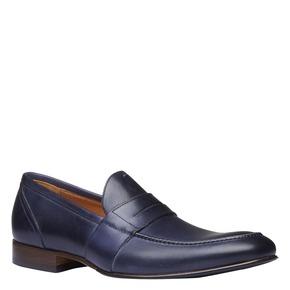 Penny Loafer di pelle shoemaker, viola, 814-9146 - 13