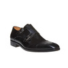 Scarpe basse di pelle in stile Monk bata-the-shoemaker, nero, 814-6159 - 13
