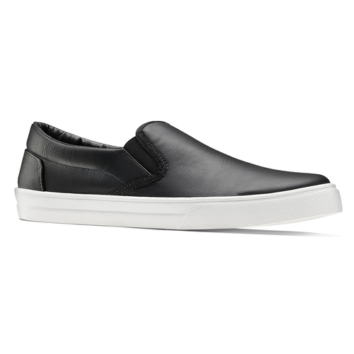 Plimsoll da uomo north-star, nero, 831-6111 - 13