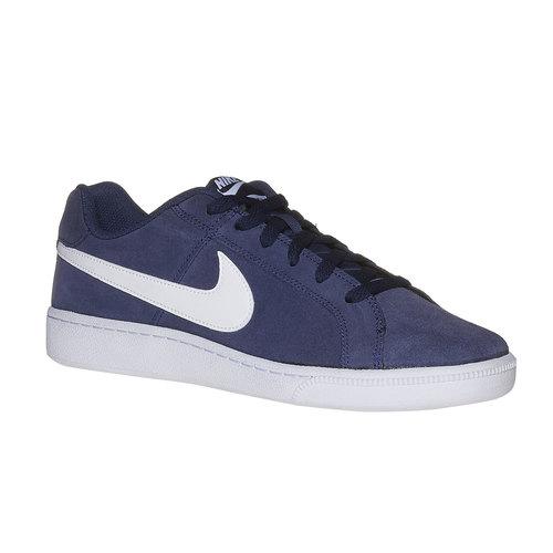 Sneakers da uomo in pelle nike, blu, 803-9148 - 13