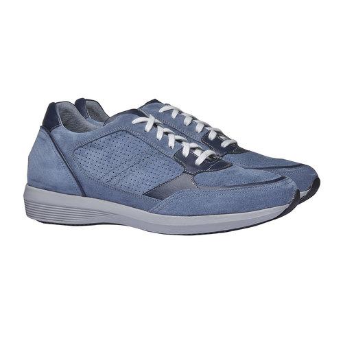 Sneakers da uomo in pelle bata, viola, 843-9645 - 26