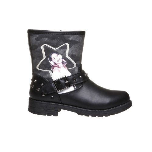 Boot  violetta, nero, 391-6162 - 26