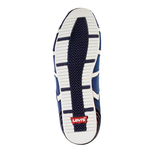 Sneakers informali da uomo levis, blu, 841-9198 - 26