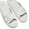 Slip-on da donna in pelle bata-comfit, bianco, 574-1250 - 26