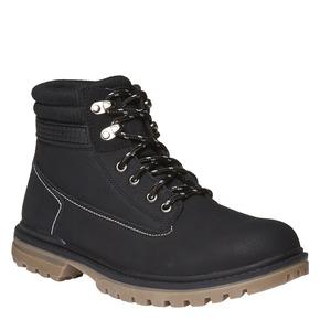 Scarpe alla caviglia con suola appariscente bata, nero, 891-6438 - 13