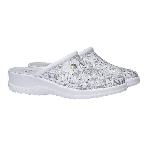 Pantofole da donna, grigio, 574-2254 - 26