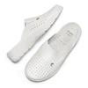 Scarpe a pantofola in pelle traforata bata-comfit, bianco, 574-1805 - 26