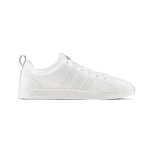 Sneakers bianche con dettagli verdi adidas, bianco, 501-1300 - 26