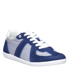 Sneakers informali da uomo bata, blu, 849-9653 - 13