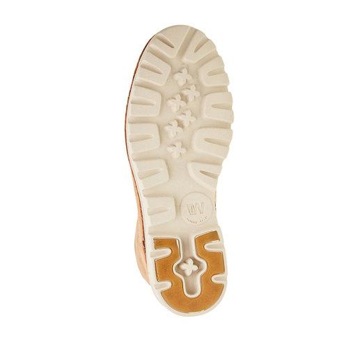 Scarpe di pelle alla caviglia weinbrenner, marrone, 594-3531 - 26