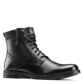 Scarpe di pelle alla caviglia bata, nero, 894-6449 - 13