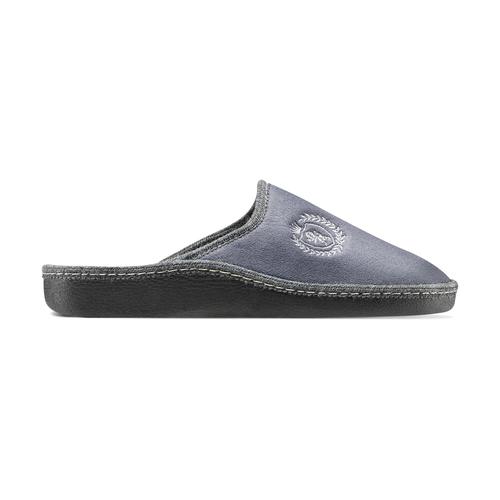 Pantofole da uomo bata, grigio, 879-2165 - 26