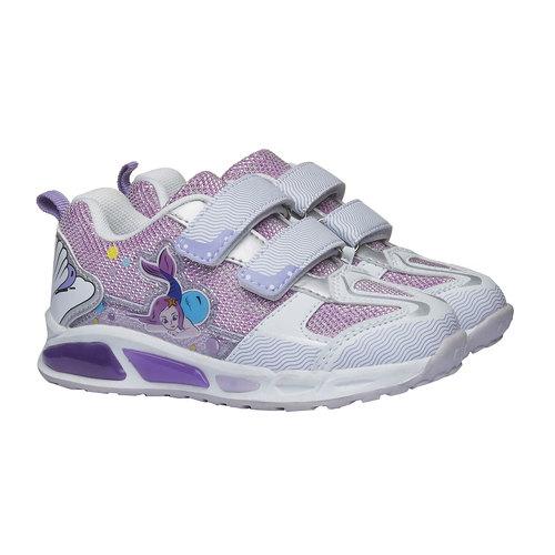 Sneakers da ragazza con chiusure a velcro mini-b, rosso, 229-5159 - 26