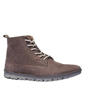 Scarpe di pelle alla caviglia. weinbrenner, marrone, 896-4133 - 13