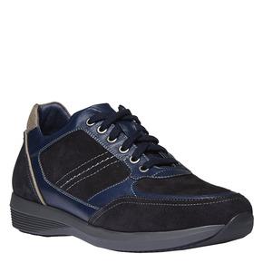 Sneakers scamosciate bata, viola, 843-9519 - 13