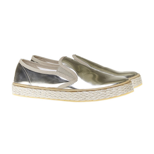 Slip-on dorate da donna north-star, giallo, 551-8104 - 26