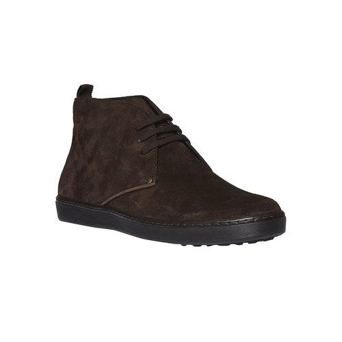 Scarpe basse scamosciate bata, marrone, 893-4387 - 13