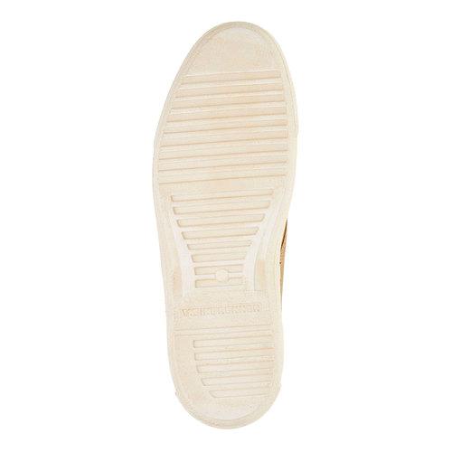 Scarpe da uomo in pelle weinbrenner, marrone, 843-8661 - 26