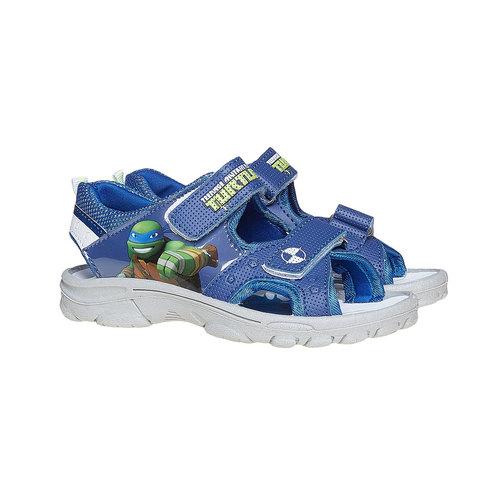 Sandali per bambino con le Tartarughe Ninja, blu, 361-9155 - 26
