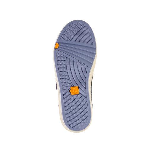 Sneakers da bambino con perforazioni flexible, blu, 311-9217 - 26