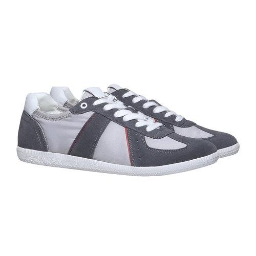 Sneakers informali da uomo bata, grigio, 849-2653 - 26