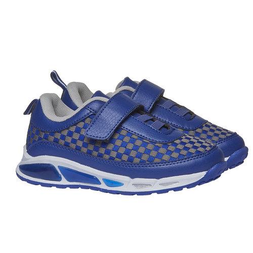 Sneakers da bambino con chiusura a velcro mini-b, viola, 211-9119 - 26