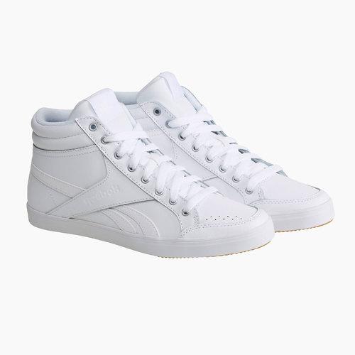 Sneakers da donna alla caviglia reebok, bianco, 504-1111 - 26