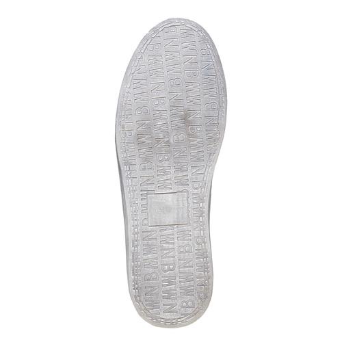 Sneakers informali alla caviglia bata, nero, 841-6694 - 26