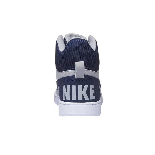 Sneakers da uomo alla caviglia nike, grigio, 801-2332 - 17