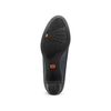 Décolleté di pelle con tacco stabile flexible, viola, 624-9393 - 17
