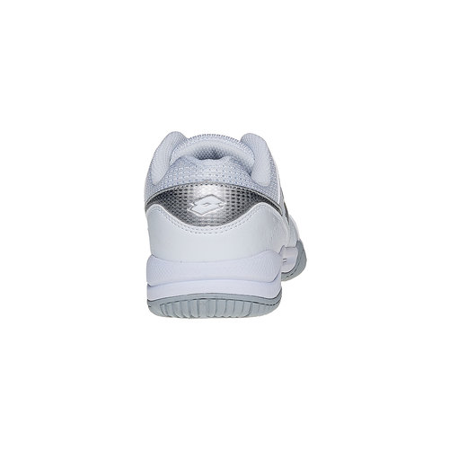 Sneakers sportive bianche lotto, bianco, 501-1155 - 17