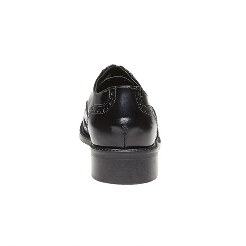 Scarpe basse da donna in pelle bata, nero, 524-6222 - 17